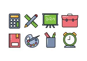 vector-school-icon-pack